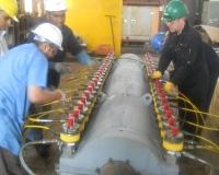 Hydra-tightening Process
