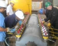 Pipeline Hydra-tightening Process