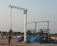Pipeline equipment JIB Crane