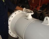 Pipeline Scraper Barrels Closure Repair