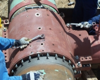 high pressure pipeline connector repair